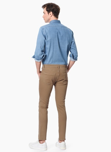 Network Denim Pantolon Camel